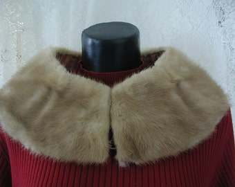 Autumn Haze Vintage Mink Collar...Vintage Mink Collar in Autumn Haze