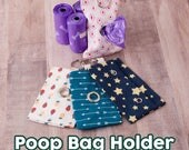 Poop Bag Holder - Free poop bag roll  with every purchase