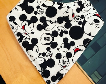 Mickey Mouse Bandana Drool Bibs