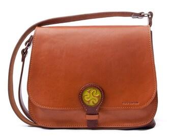 LEATHER bags / for women handbag shoulder bag/made hand/Leather Bag / Handmade Celtic design/Woman bags