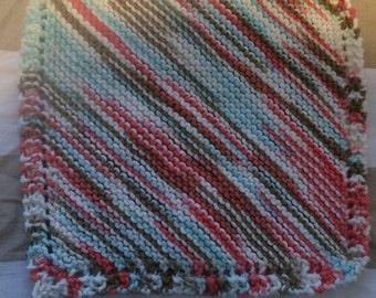 Homemade Knitted Dishcloths (3 pack)