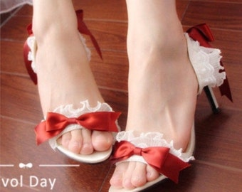 Cute 4cm high heel