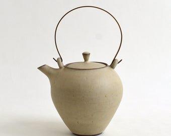Tea pot (LL-White), Made to Order in 2 months ; Mineko Nishimura  (Studio Keizan) 16006206-LLW