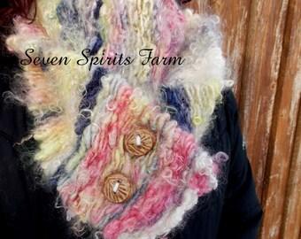 OOAK handspun scarf/cowl