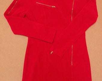 Hysteric Glamour Japan Punk Dress in Red/used