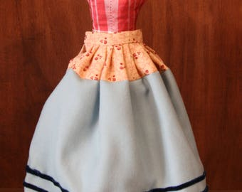 """Reproduction Antique Doll Wool Under Petticoat for 18""""-20"""" China Head Doll"""