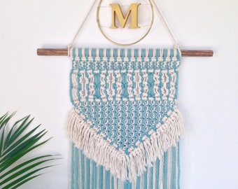 Personalised Pastel Macrame Wall Hanging