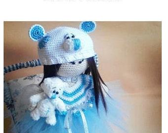 Crochet Doll PDF Pattern Amigurumi Doll Pattern