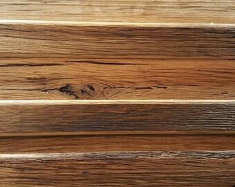 Barnwood Flat Panel Drawer Faces