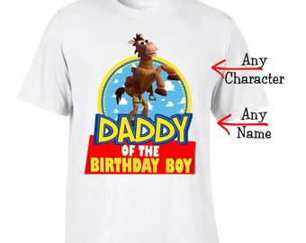 Toy Story Shirt  - Toy Story Mom or Dad Matching Birthday Shirt
