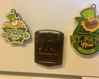Race Medal Magnets
