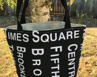 Small Padded Craft Bag-Times Square (SPECIAL)