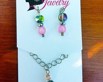 Fashion Doll Jewelry Set (Pink)
