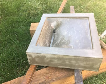 Moxie Grey Concrete Sink 50% off