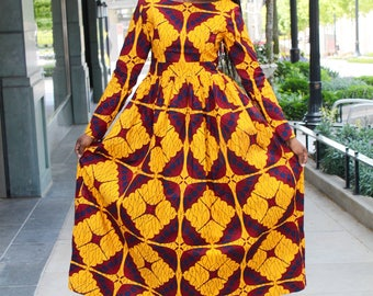 Trinidad Maxi  African Dress