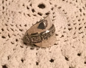 Totem Sterling Spoon Ring