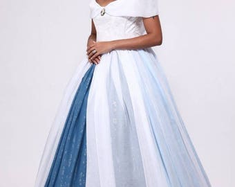 Princess in crinoline dress - dress wedding, prom. Sissi the Empress