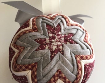 Rustic Country Christmas Ornament