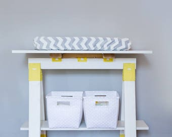 Sawhorse Changing Table