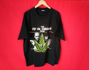vintage hip hop singer the up in  smoke tour rare t shirt