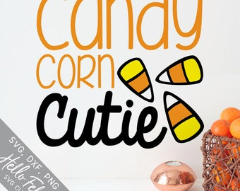 Halloween Svg, Candy Corn Svg, Cutie Svg, Baby Svg, Boo Svg, Dxf, Jpg, Svg files for Cricut, Svg files for Silhouette, Vector Art, Clip Art