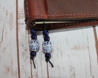 Owl bookmark for traveler notebooks