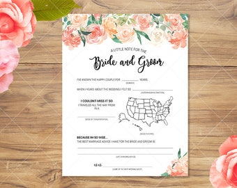 Wedding Madlibs Games | Instant Download | Printable Wedding Game