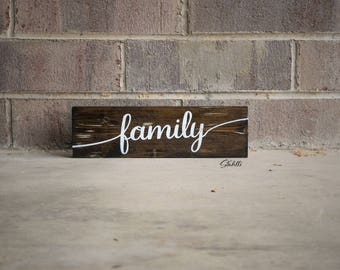Family, Farmhouse Sign, Wooden Sign, Family Quote, Family Sign, Family Gift, Inspirational Quote, Wood Sign, Wooden Signs, Wood Signs