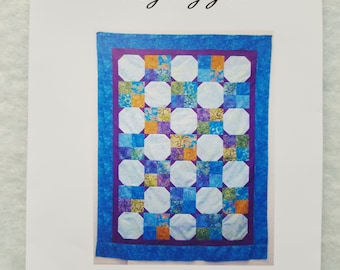 Quick and Easy Snowball/4 Patch quilt pattern
