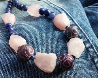Casual style handmade necklace.