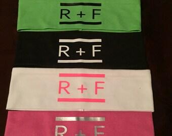 Set of five Rodan and Fields headbands