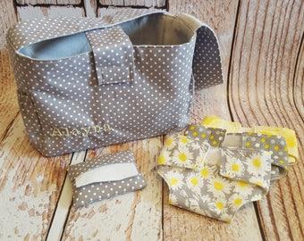 Baby Doll Diaper Bag Set