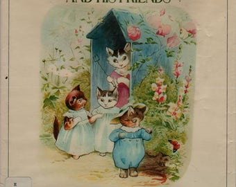 The Complete Adventures of Tom Kitten and His Friends - Beatrix Potter - 1984 - Vintage Kids Book