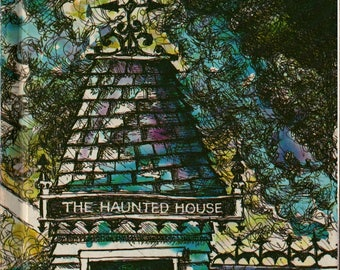 The Haunted House - Bill Martin, Jr. - Peter Lippman and Ray Barber - 1970 - Vintage Kids Book