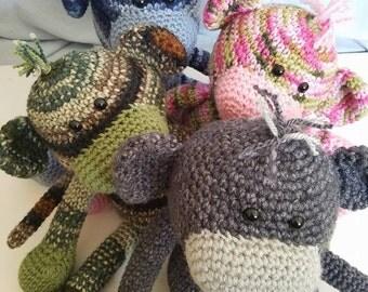 Monkeys, Crochet Monkey