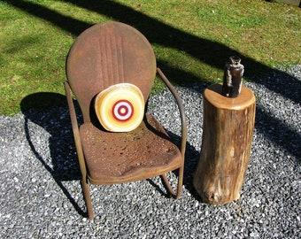 farmhouse table | Wood Log | Tree Stump Table | Coffee Table | Wood Art | Woodland Nursery | Reclaimed Wood | Reclaimed Wood Furniture