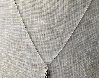 peas in a pod   mommy of twins   sterling silver pea necklace  two peas in a pod   motherhood  nana necklace  birth gift twins