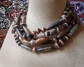 Tribal Natural Chic earthy, warm neutrals, smooth stone,infinity