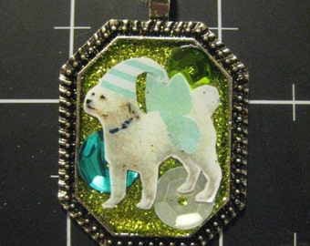 """Flutterdoodle, Celebrate Your Poodle Mix with this WInged """"Doodle"""" Dog, 50% goes to the current selected animal charity"""