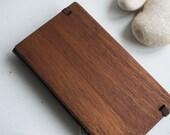 SALE 2017  Pocket Planner Wood cover calendar