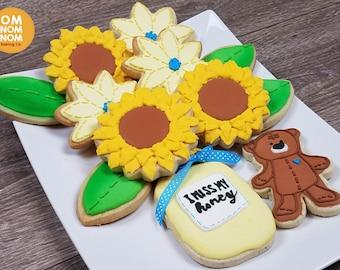 I Miss My Honey Sugar Cookies / Thinking of You- 1 Dozen