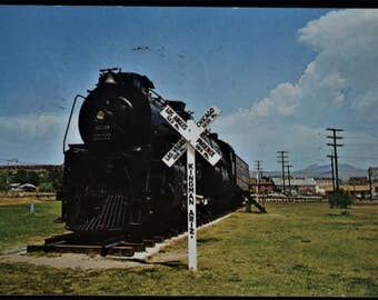 Converted Railroad Steam Locomotive Kingman Arizona Engine 3759 Used Standard Postcard