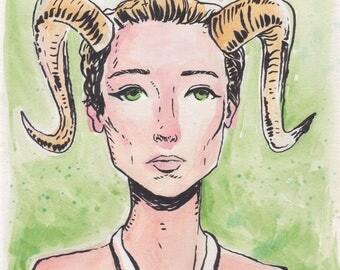 Goat girl 01