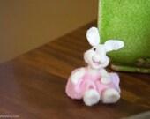 Needle Felt Bunny - Needle Felted Bunny - Easter Bunny - Easter Decoration - Spring Decor -  Wool Bunny - Easter Décor - Bear Creek Bunny