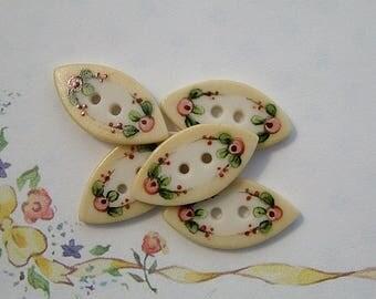 Unique Button set of 5