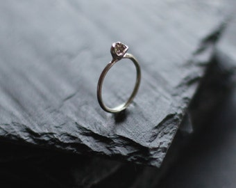 Minimal sterling silver ring / Simple ring / Delicate Ring / Cup Ring