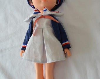 Vintage FRENCH GIRL doll 1960's Parisian girl