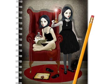 Sisters Journal - Sisters Notebook - LINED OR BLANK pages, You Choose