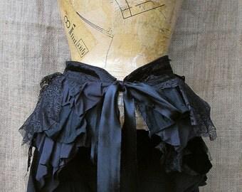Black bustle