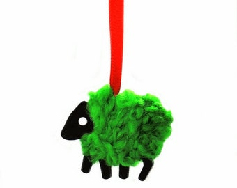 LizzyC Wee Sheep Ornament